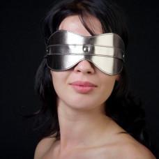 Маска на глаза из искусственной кожи  5015-7