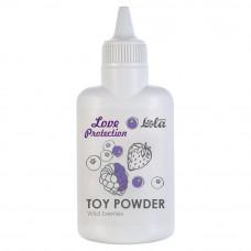 Пудра для игрушек ароматизированная Love Protection Лесные ягоды 30гр 1825-01Lola