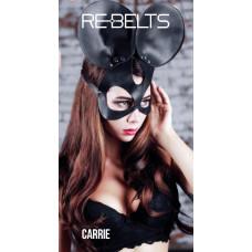 Маска черная Carrie Black 7726rebelts