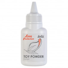 Пудра для игрушек ароматизированная Love Protection Манго 15гр 1826-00Lola
