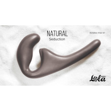 Безремневой анальный страпон Natural Seduction Black 5010-02lola