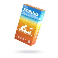 Презервативы Spring Contuor, классические, латекс, 19,5 см, 12 шт