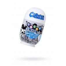 Мастурбатор нереалистичный, CAPSULE Trick, MensMax, TPE, прозрачный, 9 см
