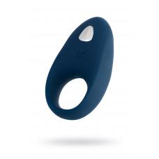 Эрекционное кольцо на пенис Satisfyer Mighty, Силикон, Синий, 9 см