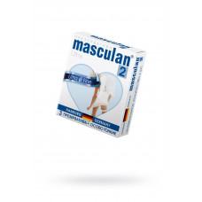 Презервативы Masculan Ultra 2,  3 шт.  Особо тонкие (Ultra Fine)  ШТ