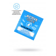 Увлажняющий интимный гель ACTIVE GLIDE HYALURONIC, 3 г 20шт в упаковке