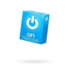 Презервативы ''ON)'' Natural feeling №3 - классические (ширина 54mm)