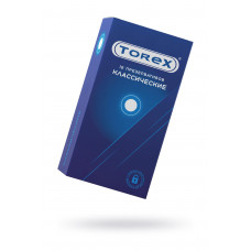 Презервативы классические TOREX  латекс, №12, 18 см