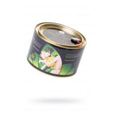 Соль Мёртвого моря для ванны Shunga Oriental Crystals «Цветок лотоса» с лечебным эффектом, в комплекте свеча+ракушка, 600 г