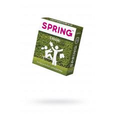 Презервативы Spring Classic, классические, латекс, 19,5 см, 3 шт