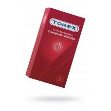 Презервативы сладкая любовь TOREX  латекс, №12, 18 см
