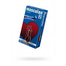 Презервативы Masculan Classic 2,  10 шт.  С пупырышками (Dotty)  ШТ
