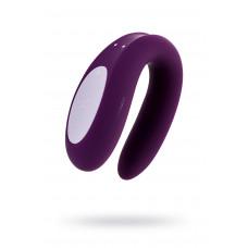 Многофункциональный стимулятор для пар Satisfyer Partner Double Joy, Силикон, Фиолетовый, 18 см