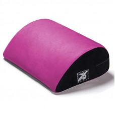 Ярко-розовая замшевая подушка для любви Liberator Retail Jaz Motion