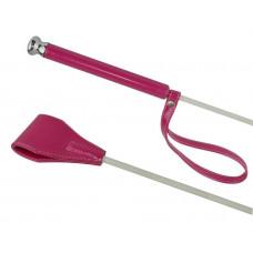 Ярко-розовый лаковый стек - 70 см.