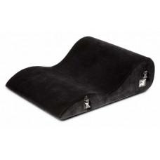 Чёрная подушка для секса Liberator Retail Hipster с креплениями