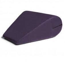 Фиолетовая вельветовая подушка для любви Liberator Rockabilly