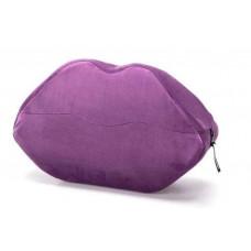Фиолетовая микрофибровая подушка для любви Kiss Wedge
