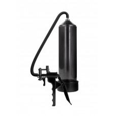 Черная ручная вакуумная помпа с насосом Elite Beginner Pump