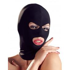 Шапка-маска чёрного цвета