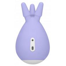 Фиолетовый клиторальный стимулятор Luscious с тремя отростками