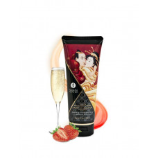 Массажный крем для тела Шампанское и клубника серии Необыкновенные поцелуи, 200мл