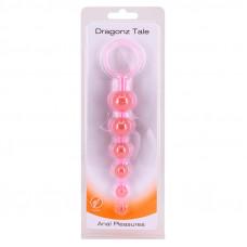 Анальная цепочка розовая DRAGONZ TALE ANAL