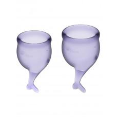 Набор менструальных чаш 2 шт Feel Secure Menstrual Cup Lilla