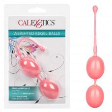 Эргономичные вагинальные шарики Weighted Kegel, розовые