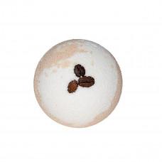 Цветная бомбочка для ванны с кофейными зернами 130 г
