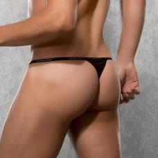 Черные стринги DOREANSE на узкой резинке