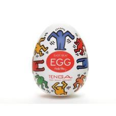 TENGA&Keith Haring Egg Мастурбатор яйцо Dance