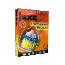 Luxe MAXIMA Презерватив Контрольный выстрел 1шт.