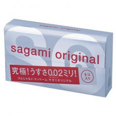 Презервативы SAGAMI Original 002 полиуретановые 6шт.