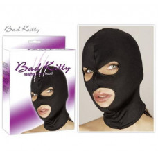 BDSM Маска на голову Bad Kitty black