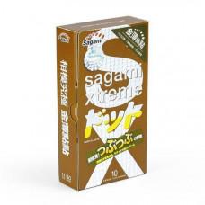 Презервативы SAGAMI Xtreme Feel UP 10шт. усиливающие ощущения