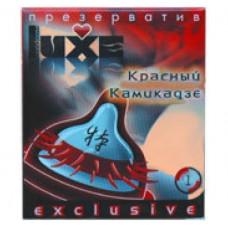 Luxe Exclusive Презерватив Красный камикадзе 1шт.
