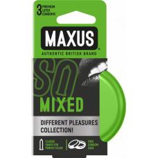 Maxus Mixed - микс разных презервативов, 3 шт