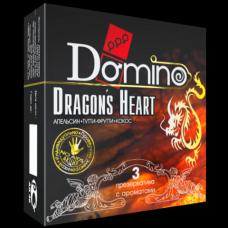 Ароматизированные презервативы DOMINO Dragons Heart, 3 шт.