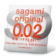 Полиуретановый презерватив Sagami Original 002 - 1 шт