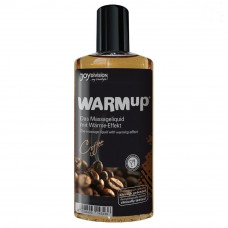 Съедобный разогревающий массажный гель с ароматом кофе Warm Up - Joy Division, 150 мл