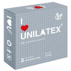 Презервативы Unilatex Dotted, 3 шт