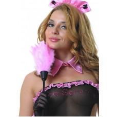 Щеточка горничной, розовая