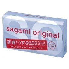Полиуретановые презервативы Sagami Original №6