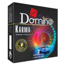 Ароматизированные презервативы DOMINO Karma, 3 шт.