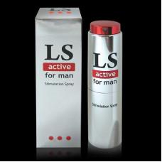 Стимулирующий спрей для мужчин Биоритм Lovespray active, 18мл