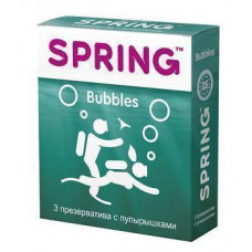 Презервативы Spring Bubbles, 3 шт./уп.