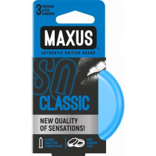 Maxus Classic - классические презервативы, 3 шт