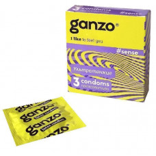Презервативы GANZO Sense, 3 шт.
