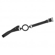 Силиконовое кляп-кольцо Orion Silikon Ring Knebel специально для плохих девочек, 5см, (черный)